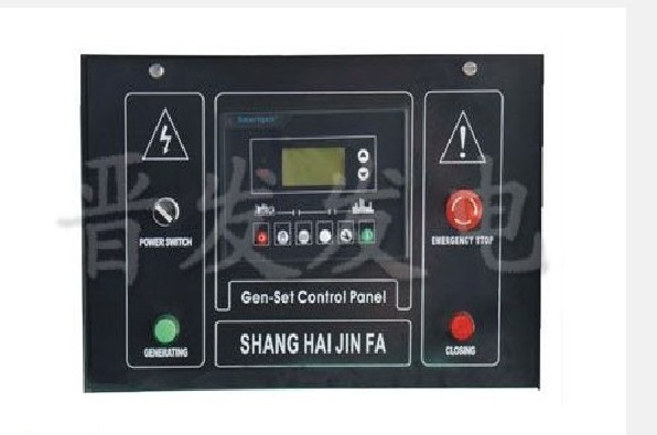 """A) 自动操作(设定起动成功条件为""""磁传感器+发电"""") 在手动状态下按""""自动""""键,该键旁指示灯亮起,表示控制器处于自动状态。此时如市电正常,市电状态指示灯亮起,控制器进入待机状态。 在待机状态如果市电异常(过压、欠压、过频、欠频、缺相、停电),则以下各项依次进行: 注:市电状态指示灯有三种状态 1."""